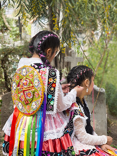 1/2  Lovely Young ladies.....Pisac