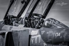 """Spook Crew"" (simonjohnsonphotography.uk) Tags: nikonaviation aircraft fighterpilot spook aviation rf4e phantomii hellenicairforce nikon jet larissa greekairforce"