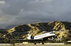 N1KE G650 (KSBD Photo) Tags: burbank california unitedstates us n1ke g650 gulfstreamfan gulfstreamforever fanfriday gulfstream glf6