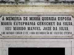 Lisboa (isoglosse) Tags: lisboa lissabon lisbon portugal cemitériodosprazeres grab tomb jazigo serif akzent acento accent tilde til cedille cedilla cedilha