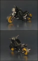 Midnight Cruiser (mondayn00dle) Tags: lego motorcycle bike black