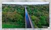 Pontcysyllte Aqueduct : DJI Phantom III Professional (setsuyostar) Tags: pontcysyllteaqueduct llangollen northwales djiphantomiiiprofessional djip3p spring2017 may2017 aerialphotography dynamicphotohdr kenhawley