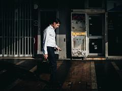Getting To Work (maxgor.com) Tags: 35mm australia candid cbd color maxgor maxgorcom olympus olympus17mmf18 olympuspenf people primelens rawstreets stranger street streetphotographer streetphotography streetphotographycolor streetshooter sydney sydneycentralbusinessdistrict улица surryhills newsouthwales au