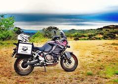 Lost in the mountains... (carlesbaeza) Tags: adventure advrider adventurerider bigtrail biker dualsportlife dualsport travel motobiker moto motorcycle motorrad xt1200z supertenere yamaha xladv catalunya catalonia