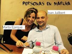 Joan Julibert y Marta Ejarque