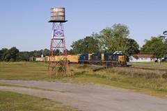 A768 at Blackshear (Colin Dell) Tags: csx sd40e3 csx1705 train freight blackshear tower field slug roadslug slugset csxt darkfuture yn3b csx2339 csx6455