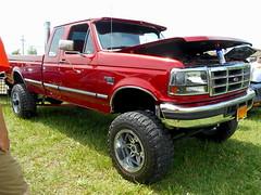 1997 Ford F-250 4x4 (splattergraphics) Tags: 1997 ford f250 diesel 4x4 pickup truck custom carshow romancingthechrome jarrettsvillemd