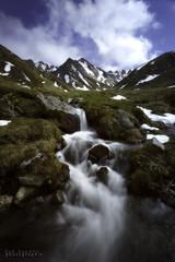 Val de courre (Bob Guedin) Tags: val de courre sancy auvergne long exposure pose longue snow neige cascade waterfall
