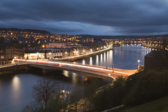 Inverness, Scotland (Sunny Herzinger) Tags: night trails city scotland xf23mmf14 inverness light unitedkingdom gb