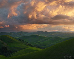 Adventus (Willie Huang Photo) Tags: hills rollinghills california bayarea centralcoast northerncalifornia green storm spring landscape nature scenic light shadow