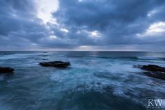 Wave Breakers - [Explored] (sleepnever) Tags: lajolla sandiego california coast ocean sea waves evening sunset clouds rocks 1635f4 robertwatts