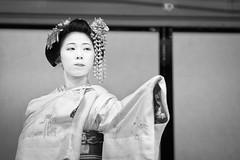 Maiko Mamesaya (Shibata Okiya) of Gion Kobu (balbo42) Tags: kyoto mamesaya 2017 fgion okiya shibata xt2 odori kamogawa maiko geiko hanamachi fujifilm japan