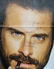 - (txmx 2) Tags: hamburg graffiti scrawl billboaed afd whitetagsrobottags whitetagsspamtags