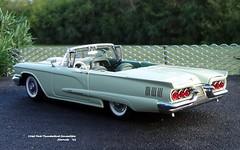 1960 Ford Thunderbird Convertible (JCarnutz) Tags: 124scale diecast danburymint ford thunderbird 1960