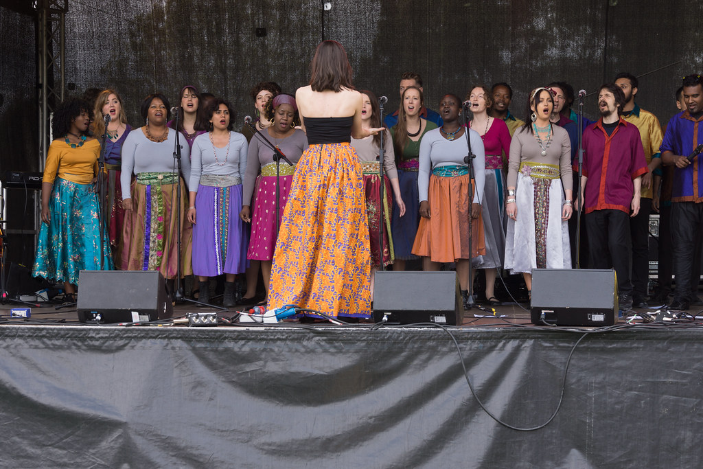 Discovery Gospel Choir At Africa Day 2017 In Dublin [Ireland Leading Multicultural Choir]-128826