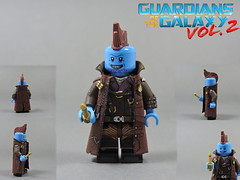Custom LEGO Guardians of the Galaxy Vol 2: Yondu Udonta (Will HR) Tags: lego marvel customs