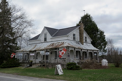 The former John Edgar Hotel in Newbliss, Ontario (Ullysses) Tags: johnedgarhotel newbliss ontario canada spring printemps hotel townshipofelizabethtownkitley elizabethtownkitley dodd'scorners