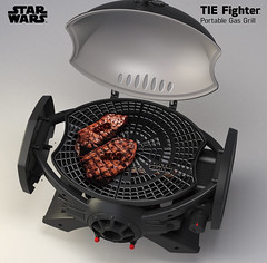 -star-wars-bbq-LP-Gas-Grill-A (starwarsbbq) Tags: starwars broilchef portable bbq grill gas gasgrill bbqgrill starwarsbbq starwarsbbqgrill portablebbqgasgrill with imperial cast iron cooking grids tiefighter starwarstiefighter