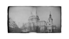 Saint Paul Holga (LevaniaK) Tags: london holga 120n holgarama panorama orwo np15 expired 1976 march 2017 veniamin bulgarian