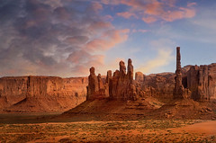 Treat The Earth Well (karenhunnicutt) Tags: earth sacred totems monumentvalley navajo karenhunnicuttphotographycom karenhunnicutt fineartphotographer