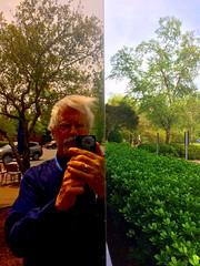 Corner Reflector (byzantiumbooks) Tags: self reflection werehere hereios