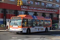 IMG_8318 (GojiMet86) Tags: nice nassau inter county express nyc new york city bus buses 2009 orion vii ng cng lf 1795 n6 hillside avenue merrick blvd