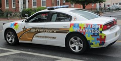 Winchester City Sheriff's Office Autism Awareness 2014 Dodge Charger (NorthernVirginiaPoliceCars) Tags: winchester sheriffs office sheriff department autism awareness unit 2014 dodge charger pursuit emergency first responder law enforcement officer leo thinblueline bluelivesmatter patrol car truck suv lightbar 90th annual shenandoah apple blossom festival parade firemans grand feature