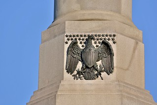 Close-up on the Soldiers' National Monument