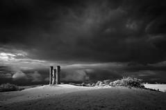 After The Rain (Stu Meech) Tags: broadway tower infrared storm rain light nikon d300s 1635 720nm stu meech worcestershire