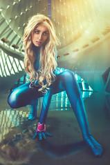Samus Aran (Metroid) by Gunter Cosplay (rubenfcid) Tags: samusaran metroid nintendo guntercosplay videogame cosplayer cosplay montage photomontage space fantasy portrait girl woman scifi scienceficion gente zerosuit