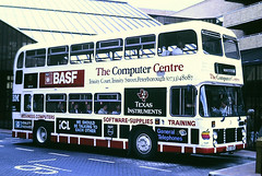 Slide 095-45 (Steve Guess) Tags: cambridgeshire bus cambs england gb uk cambus vrt ecw bristol thecomputercentre basf advert