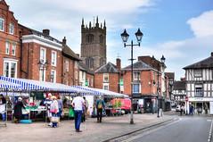 The market, Ludlow, Shropshire (Baz Richardson (now away until 27 May)) Tags: shropshire ludlow ludlowmarket streetscenes ludlowtowncentre