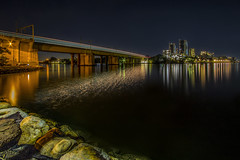 LE with messy water (satochappy) Tags: river parramattariver sydney bridge