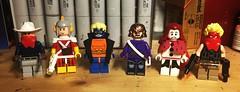 DC Figs # . . . (LordAllo) Tags: lego dc vigilante adam strange animal man fisherman ragdoll grifter