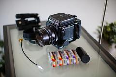 Going on a walk (Dirk Bruyns) Tags: mamiya rb67 agfa optima ultra ultra50 optima100 sekor 90mm optima200 canon 1dsmk2 50mm f12l camera analog