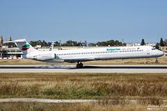 Bulgarian Air Charter --- McDonnell Douglas MD-82 --- LZ-LDN (Drinu C) Tags: adrianciliaphotography sony dsc rx10iii rx10 mk3 mla lmml plane aircraft aviation mcdonnelldouglas bulgarianaircharter md82 lzldn