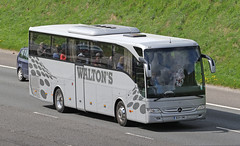 Waltons Coaches l Mercedes l BX14OMG (Transport Pixels) Tags: coaches coach waltons mercedes tourismo m62