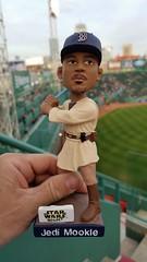 Jedi Mookie Betts, Boston Red Sox (bpephin) Tags: boston redsox bostonredsox fenway baseball mlb mookie betts 50 jedi starwars