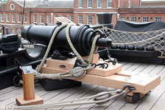 HMS Victory 68lb Carronade (NTG's pictures) Tags: portsmouth historic naval dockyard hms victory 104gun firstrate ship upper gun deck captains cabin carronade