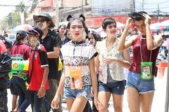 Water Festival in Thailand (popplefilm) Tags: ladyboy thai