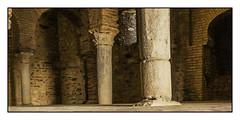 Mezquita de Almonaster la Real (Jose Losada Foto) Tags: joselosada fotografía fotógrafo nikond90 nikon andalucía huelva sierradehuelva sierradearacenaypicosdearoche almonasterlareal vacaciones excursión spain españa mezquita culturaárabe arquitectura piedras ladrillos colunnas