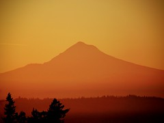 AkaHood 2 (christianpeterson1) Tags: red sunrise mthood pdx volcano orange landscape