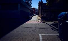 Street biker (elgunto) Tags: street bike biker people road light contrast barcelona poblenou colors sonya7 nikon2035 manuallense