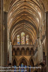 Salisbury Cathedral Interior (Philip Pound Photography) Tags: salisbury cathedral architecture building wiltshire church religion