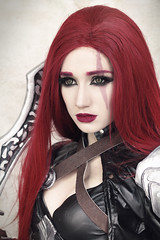 Katarina 2 (Florent Joannès) Tags: shoot shooting mode modeling makeup cosplay leagueoflegends katarina 50mm 2017 toulon mangazur