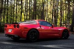 C6 Corvette (vdes) Tags: corvette car cars automobile automotive sports sportscar nikon photoraphy bokeh tones nature red