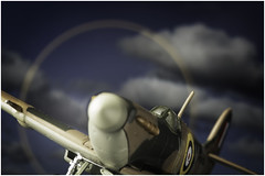Macro Mondays (Option) - Intentional Blur - Spitfire (andymoore732) Tags: macro option intentional blur natural light window diffuser andymoore colour nikon d500 afs vr micronikkor 105mm f28gifed challenge theme flickr spitfire propeller spinning raf diecast model