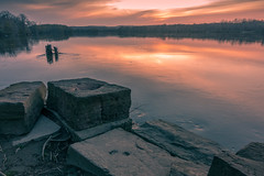 Foundations (johnjmurphyiii) Tags: 06416 clouds connecticut connecticutriver cromwell dawn originalarw riverroad riverportpark sky sonyrx100m5 spring sunrise usa johnjmurphyiii cloudsstormssunsetssunrises cloudscape weather nature cloud watching photography photographic photos day theme light dramatic outdoor color colour