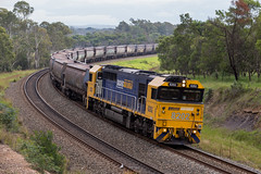 2017-04-25 Pacific National 8202 Bargo TM81 8240-8256 on rear (deanoj305) Tags: bargo newsouthwales australia 8202 tm81 coal train pacificnational mainsouthline nsw au locomotive