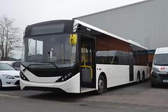 Enviro 200 MMC Tri-Axle (Will Swain) Tags: birmingham international 28th march 2017 bus buses transport travel uk britain vehicle vehicles county country england english west midland midlands city centre enviro 200 triaxle elmond trading estate industrial est mmc